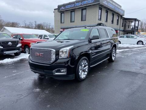 2017 GMC Yukon XL for sale at Sisson Pre-Owned in Uniontown PA