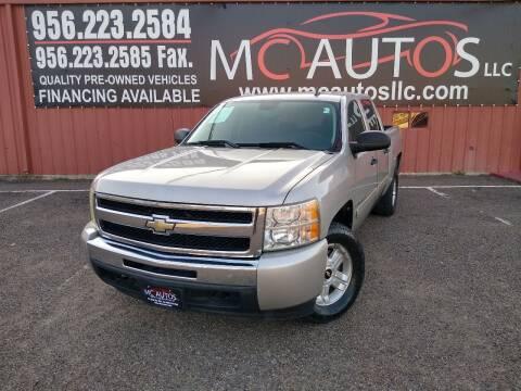 2009 Chevrolet Silverado 1500 for sale at MC Autos LLC in Pharr TX