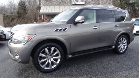 2013 Infiniti QX56 for sale at Driven Pre-Owned in Lenoir NC
