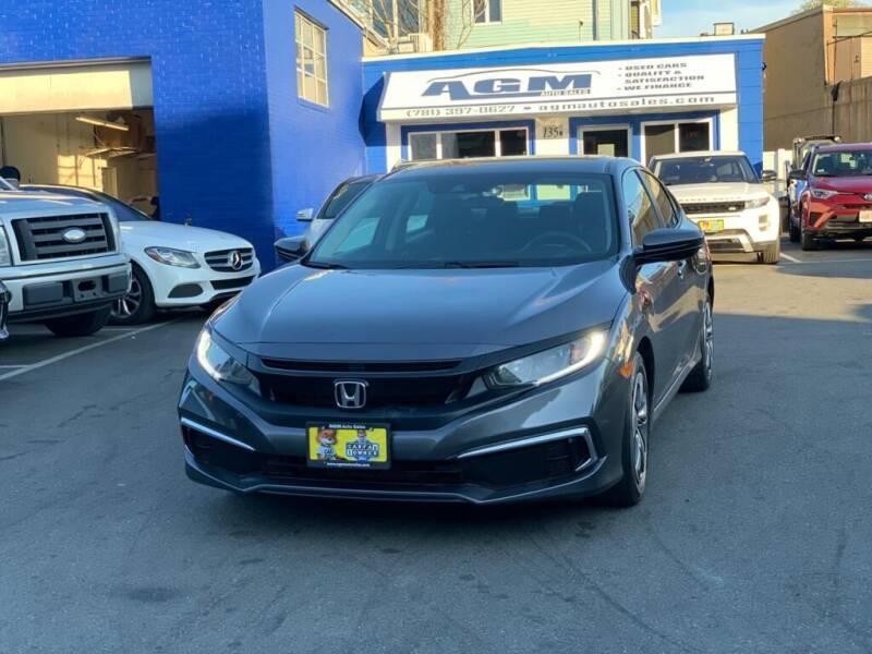 2019 Honda Civic for sale at AGM AUTO SALES in Malden MA
