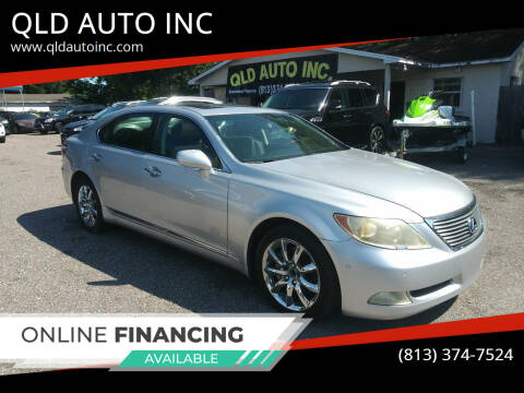 2007 Lexus LS 460 for sale at QLD AUTO INC in Tampa FL