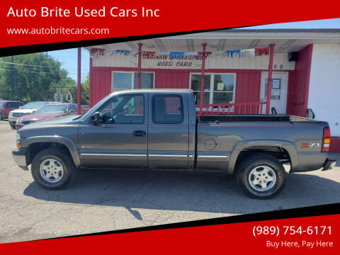2001 Chevrolet Silverado 1500 for sale at Auto Brite Used Cars Inc in Saginaw MI