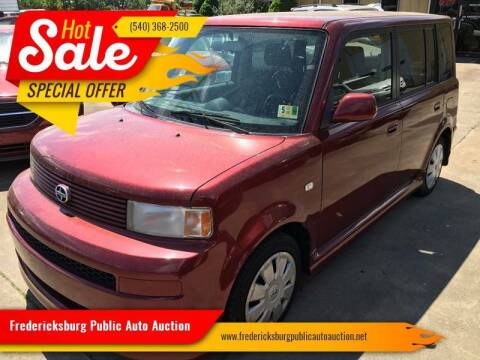 2006 Scion xB for sale at FPAA in Fredericksburg VA