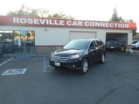 2012 Honda CR-V for sale at ROSEVILLE CAR CONNECTION in Roseville CA