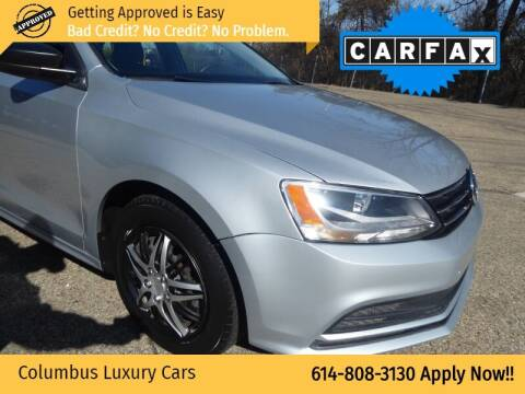 2016 Volkswagen Jetta for sale at Columbus Luxury Cars in Columbus OH