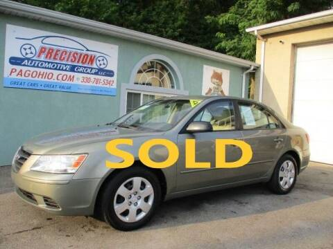 2009 Hyundai Sonata for sale at Precision Automotive Group in Youngstown OH