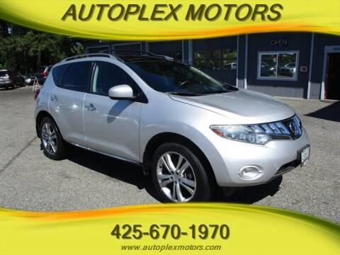 2010 Nissan Murano for sale at Autoplex Motors in Lynnwood WA