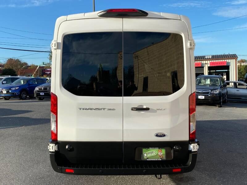 2019 Ford Transit Passenger 350 XLT 3dr LWB Medium Roof Passenger Van w/Sliding Passenger Side Door - Harrisonburg VA
