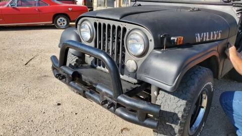 1970 Jeep CJ-5 for sale at CLASSIC MOTOR SPORTS in Winters TX