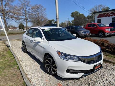 2016 Honda Accord for sale at Beach Auto Brokers in Norfolk VA