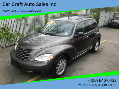 2001 Chrysler PT Cruiser for sale at Car Craft Auto Sales Inc in Lynnwood WA