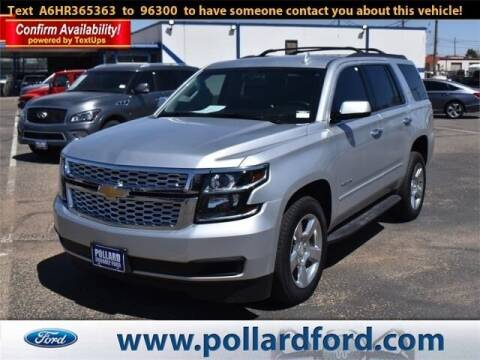 2017 Chevrolet Tahoe for sale at South Plains Autoplex by RANDY BUCHANAN in Lubbock TX