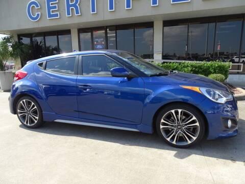 2016 Hyundai Veloster for sale at Mac Haik Ford Pasadena in Pasadena TX