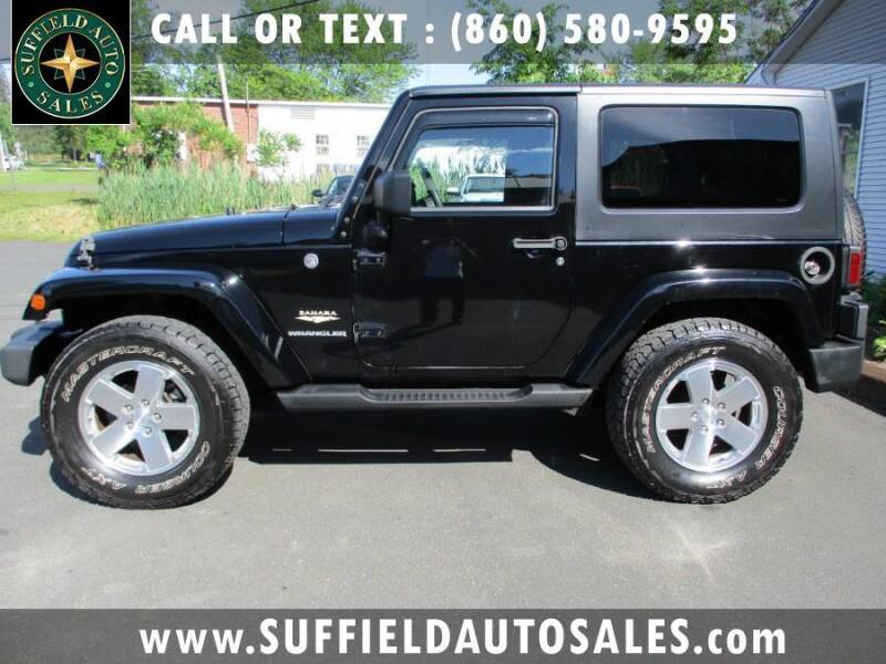 2008 Jeep Wrangler for sale in Suffield, CT