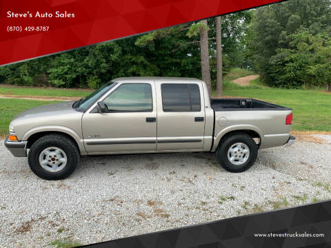2002 Chevrolet S-10 for sale at Steve's Auto Sales in Harrison AR