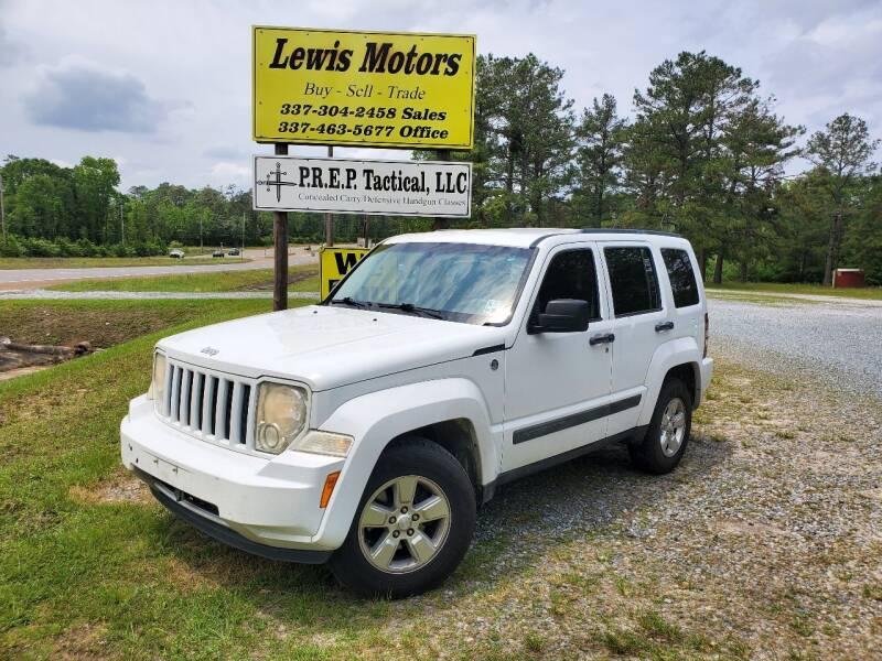 2012 Jeep Liberty for sale at Lewis Motors LLC in Deridder LA