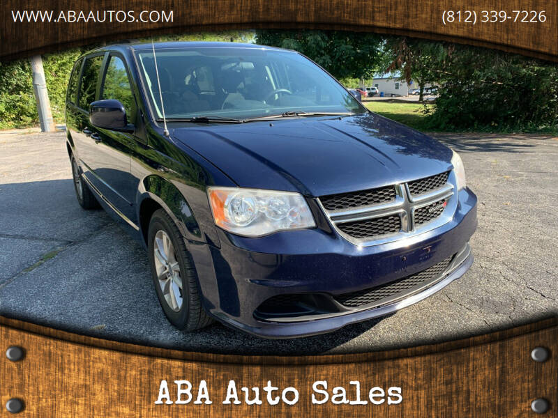 2013 Dodge Grand Caravan for sale at ABA Auto Sales in Bloomington IN