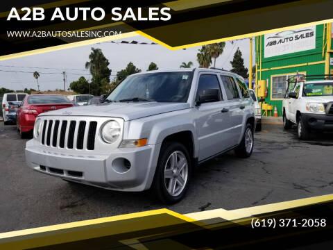 2008 Jeep Patriot for sale at A2B AUTO SALES in Chula Vista CA