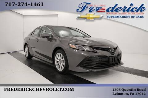 2018 Toyota Camry for sale at Lancaster Pre-Owned in Lancaster PA