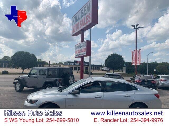 2018 Chevrolet Malibu for sale in Killeen, TX
