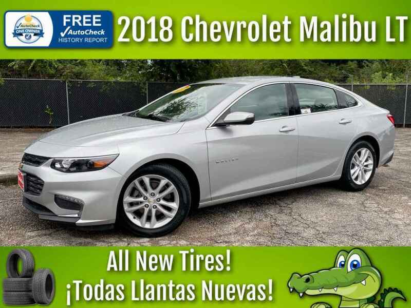 2018 Chevrolet Malibu for sale at LIQUIDATORS in Houston TX