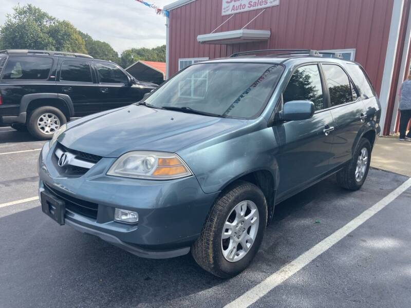 2005 Acura MDX for sale at Sartins Auto Sales in Dyersburg TN