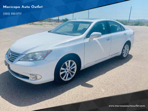 2011 Lexus ES 350 for sale at Maricopa Auto Outlet in Maricopa AZ