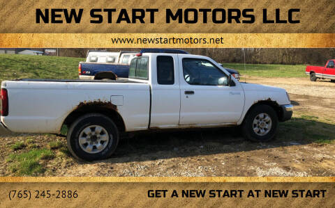 2000 Nissan Frontier for sale at New Start Motors LLC - Rockville in Rockville IN