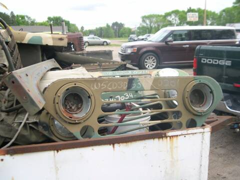 1968 Miliary Jeep M151 for sale at D & T AUTO INC in Columbus MN
