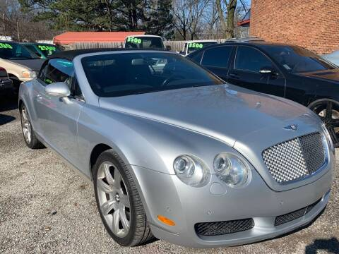 2007 Bentley Continental for sale at Super Wheels-N-Deals in Memphis TN