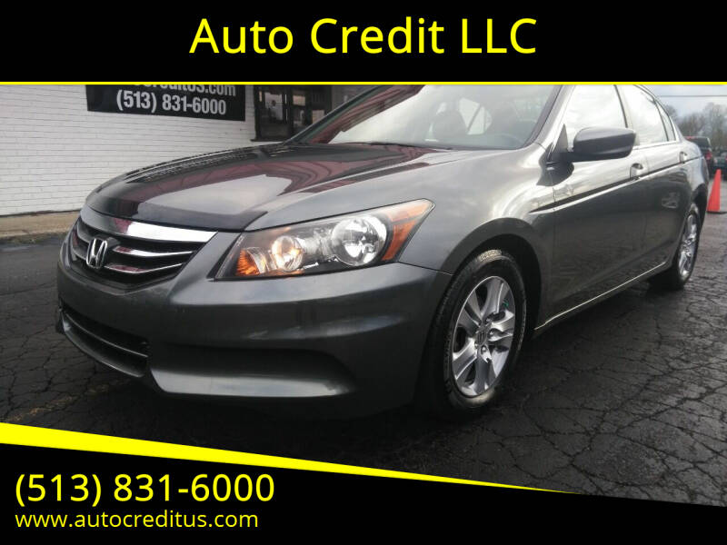 2012 Honda Accord for sale at Auto Credit LLC in Milford OH