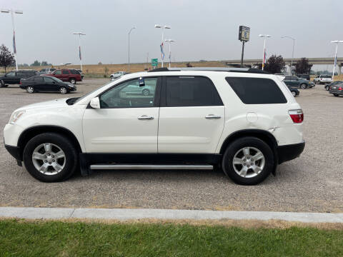 2010 GMC Acadia for sale at GILES & JOHNSON AUTOMART in Idaho Falls ID
