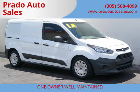 2015 Ford Transit Connect Cargo for sale at Prado Auto Sales in Miami FL