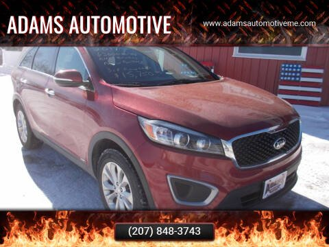 2017 Kia Sorento for sale at Adams Automotive in Hermon ME