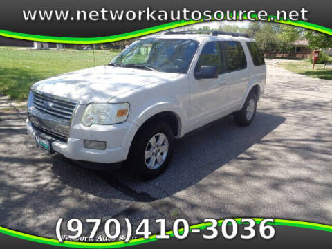 2010 Ford Explorer for sale at Network Auto Source in Loveland CO