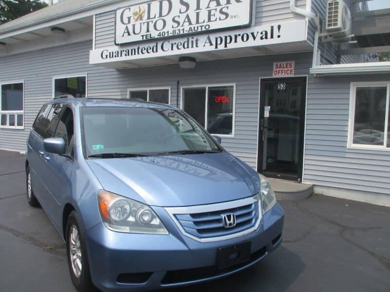 2009 Honda Odyssey for sale at Gold Star Auto Sales in Johnston RI