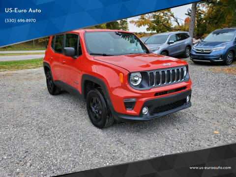 2019 Jeep Renegade for sale at US-Euro Auto in Burton OH
