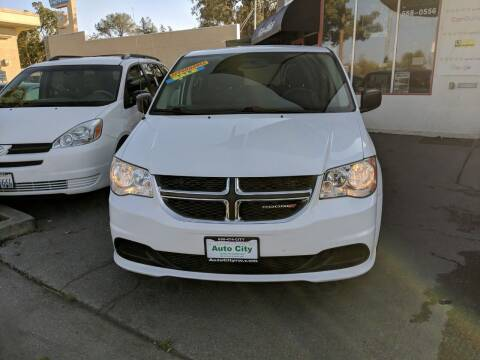 2016 Dodge Grand Caravan for sale at Auto City in Redwood City CA