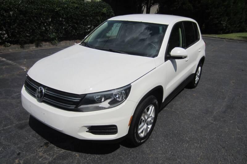 2012 Volkswagen Tiguan for sale at Key Auto Center in Marietta GA