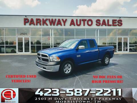 2018 RAM Ram Pickup 1500 for sale at Parkway Auto Sales, Inc. in Morristown TN