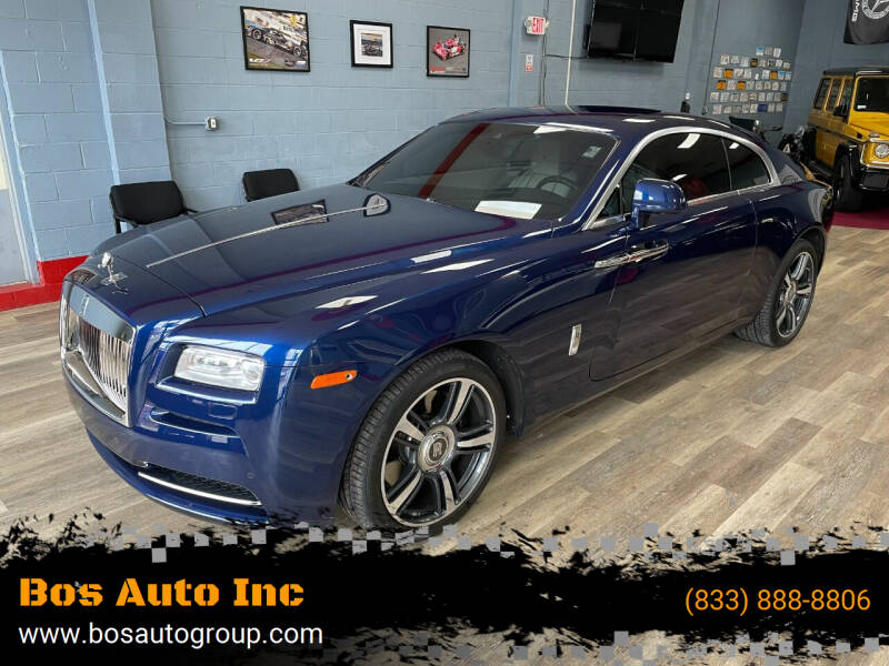 2015 Rolls-Royce Wraith for sale at Bos Auto Inc in Quincy MA