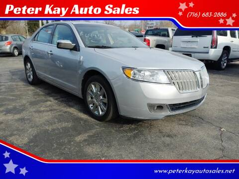 2011 Lincoln MKZ for sale at Peter Kay Auto Sales in Alden NY