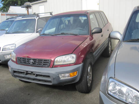 1998 Toyota RAV4 for sale at All About Cars in Marysville WA