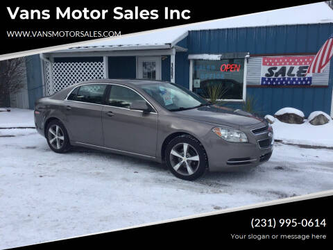 2011 Chevrolet Malibu for sale at Vans Motor Sales Inc in Traverse City MI