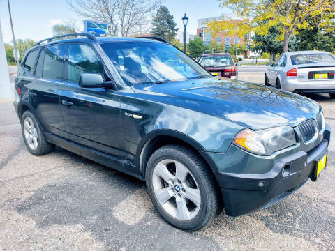 2004 BMW X3 for sale at J & M PRECISION AUTOMOTIVE, INC in Fort Collins CO