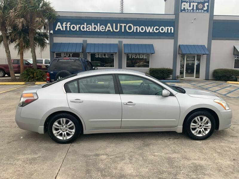 2012 Nissan Altima for sale at Affordable Autos in Houma LA