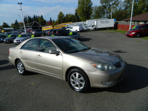 2005 Toyota Camry for sale at J & R Motorsports in Lynnwood WA