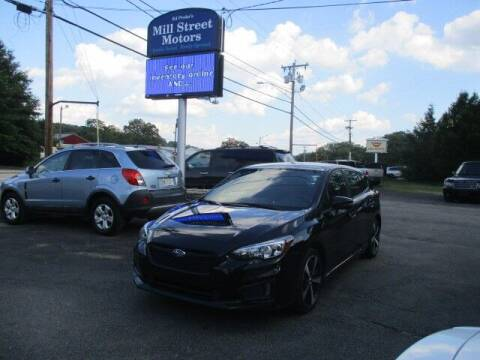 2017 Subaru Impreza for sale at Mill Street Motors in Worcester MA