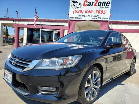 2015 Honda Accord for sale at CarZone in Marysville CA