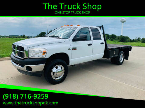 2008 Dodge Ram Chassis 3500 for sale at The Truck Shop in Okemah OK